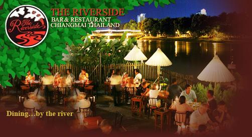 The Riverside Bar Restaurant In Chiangmai Thailand
